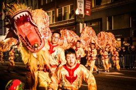 Chinese New Year Parade 2016, San Francisco, California